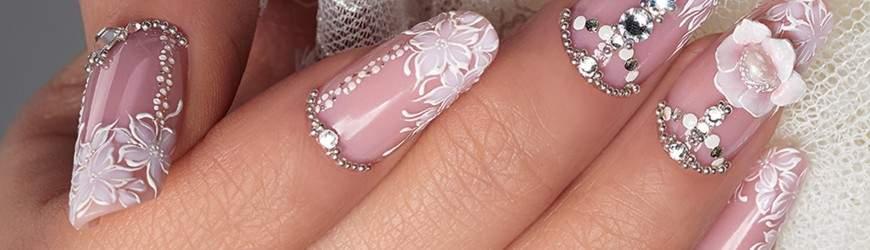 Crystal Nails Tendencias Vestidos Y Uñas De Novias